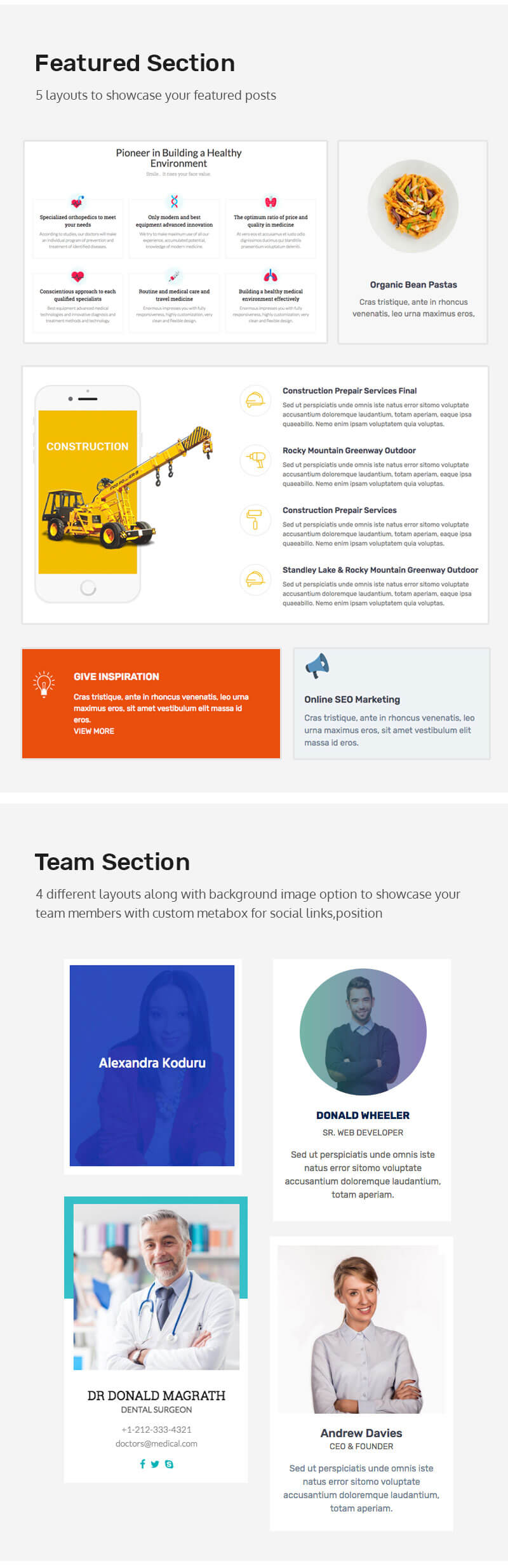 The100 Pro – Multipurpose and multi-layout Premium WordPress Theme