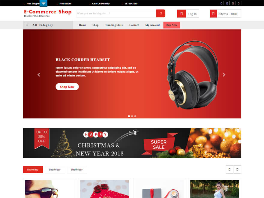 VW eCommerce Shop - Best E-commerce and WooCommerce WordPress Themes and Templates