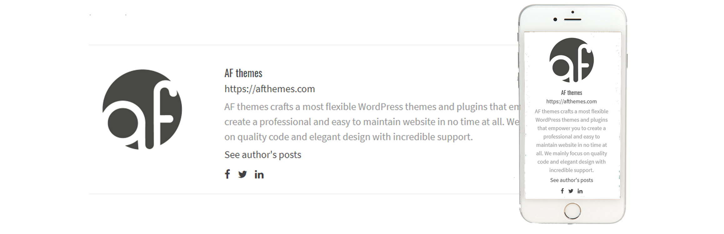Free WordPress Author Bio Box Plugin: WP Post Author