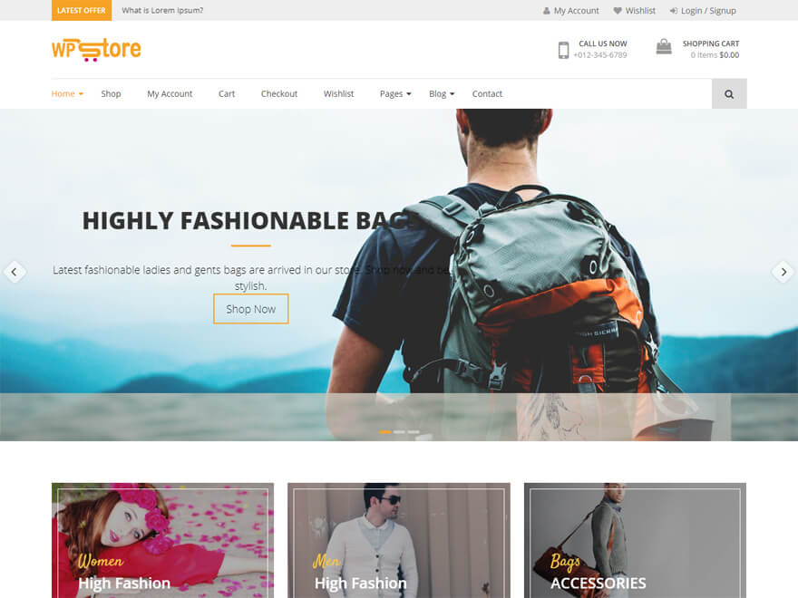 WP Store - Best E-commerce and WooCommerce WordPress Themes and Templates