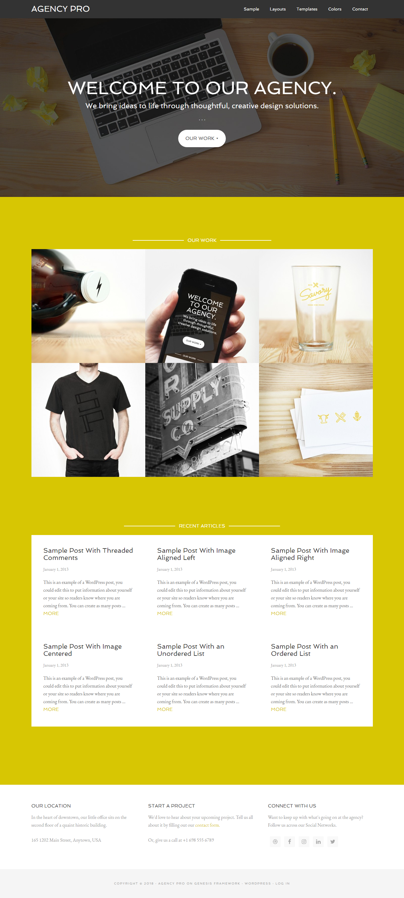 Agency Pro - Premium Agency WordPress Themes and Templates