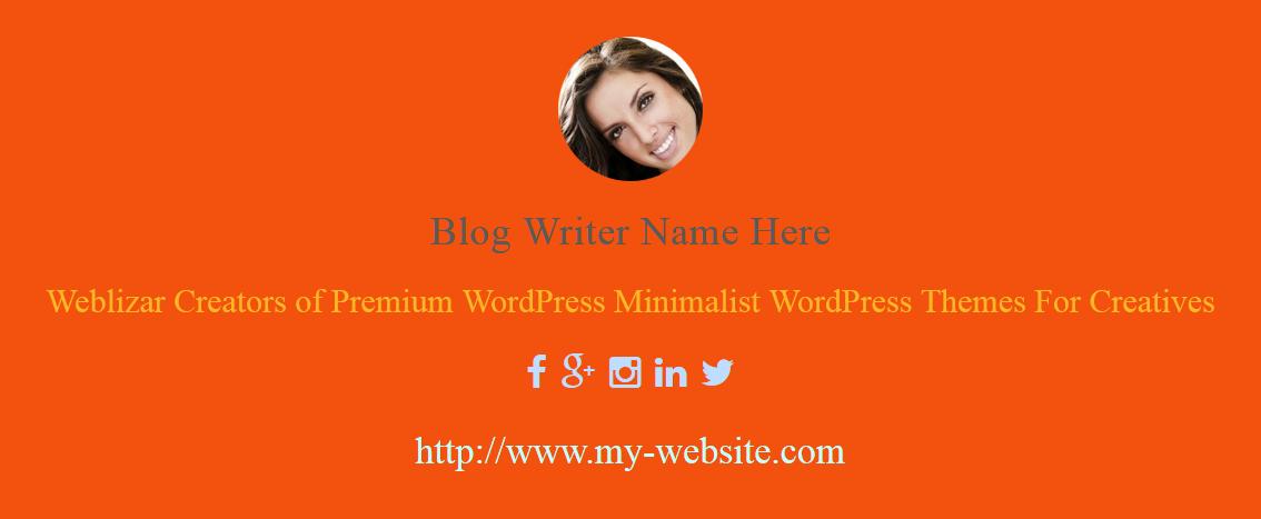 Best WordPress Author Bio Box Plugins: About Author Pro