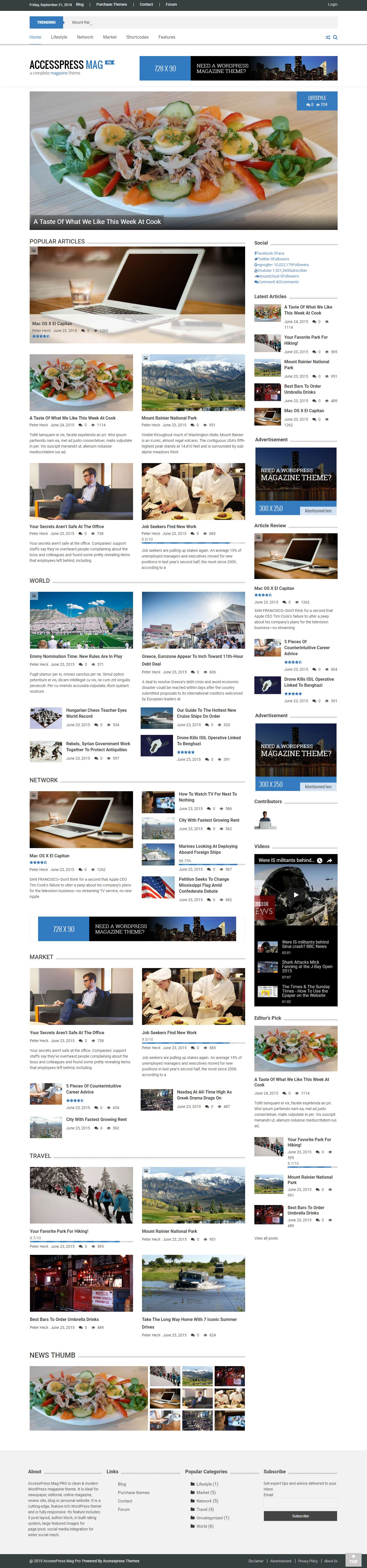 AccessPress Mag - Best Premium Responsive WordPress Themes