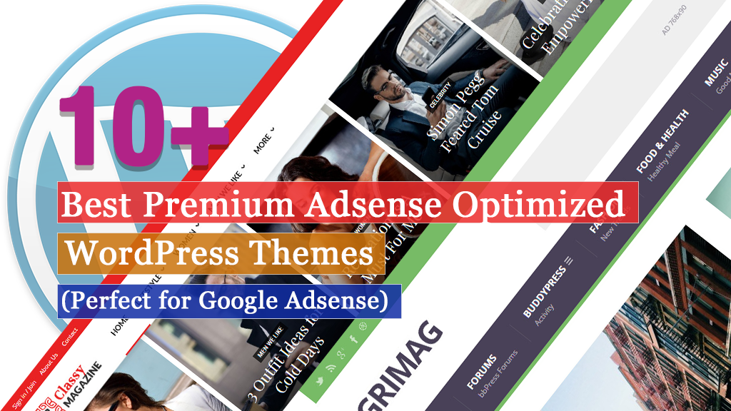 10+ Best Premium Adsense Optimized WordPress Themes (Perfect for Google Adsense)