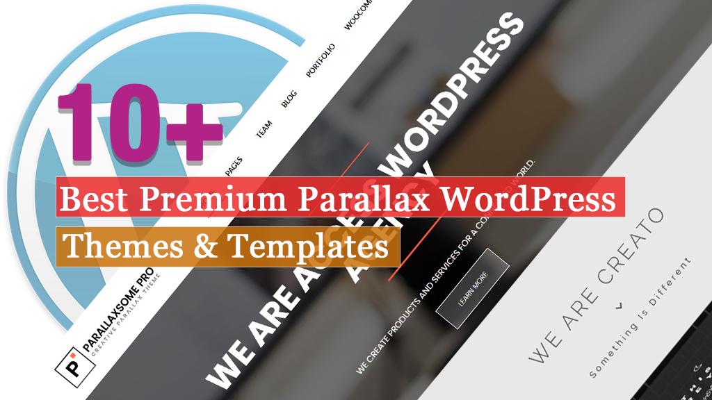 Best Premium Parallax WordPress Themes and Templates