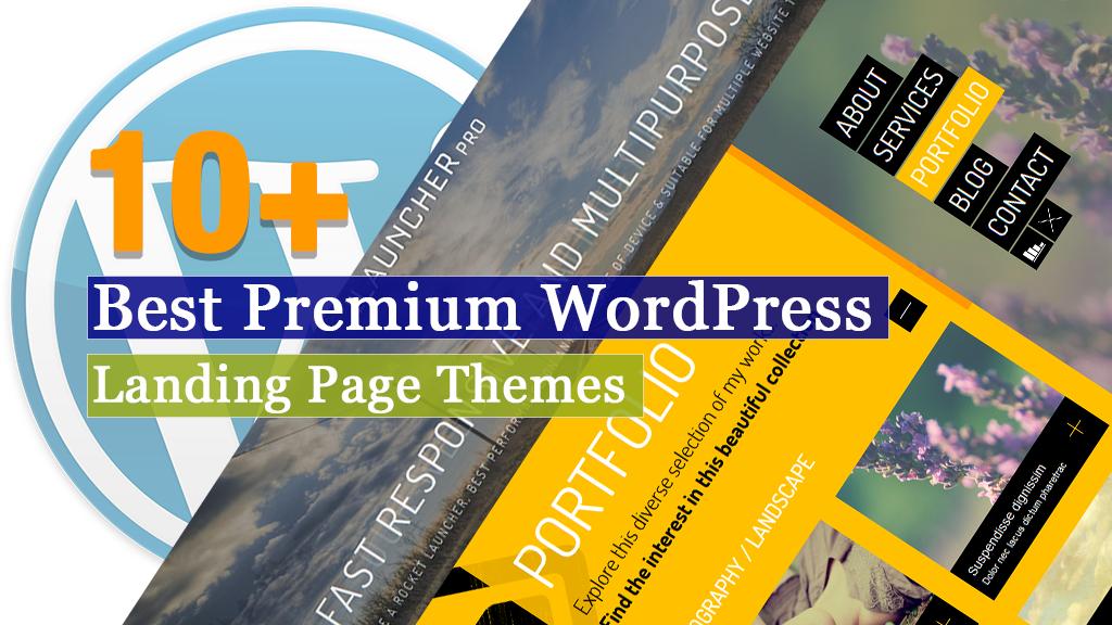 10+ Best Premium WordPress Landing Page Themes 2020