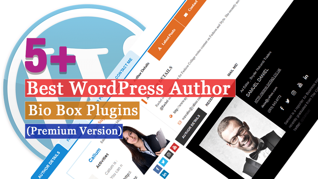 Best WordPress Author Bio Box Plugins