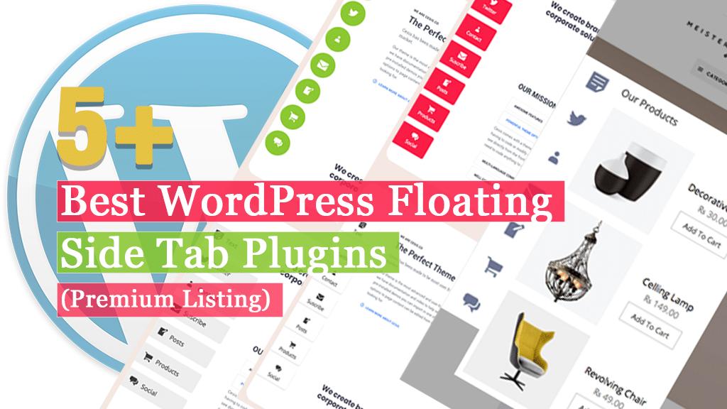 Best WordPress Floating Side Tab Plugins