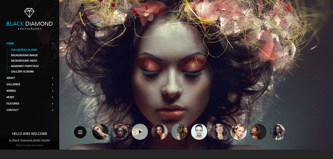 Diamond - Premium Photography WordPress Themes and Templates