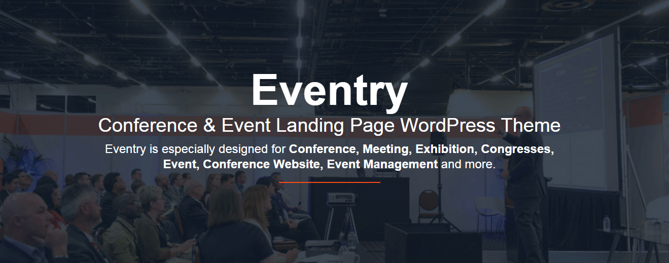 Eventry - Best Premium WordPress Landing Page Themes
