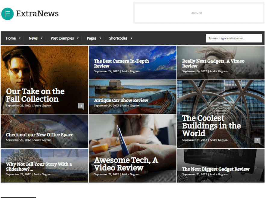 Extranews - Best Premium News Magazine WordPress Themes