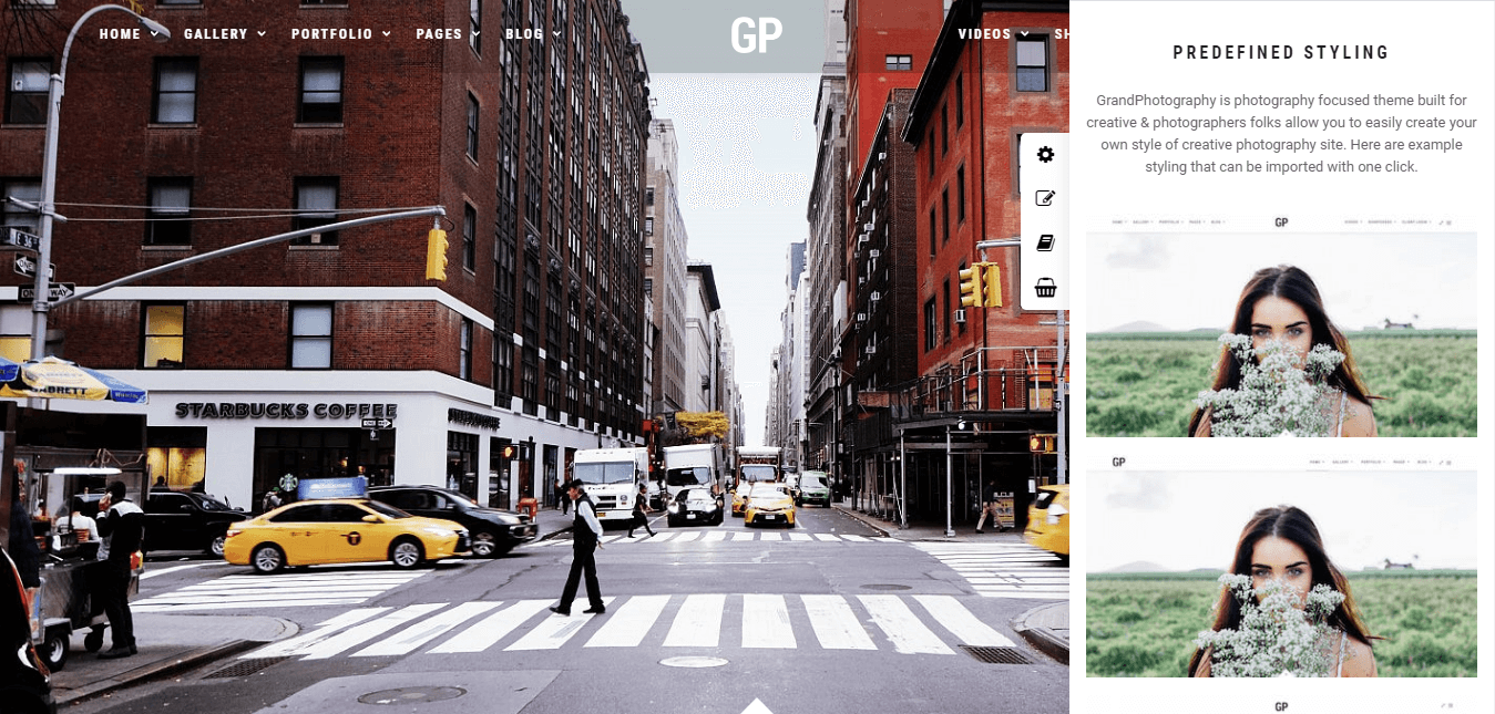 Grand Photography - Premium Photography WordPress Themes and Templates