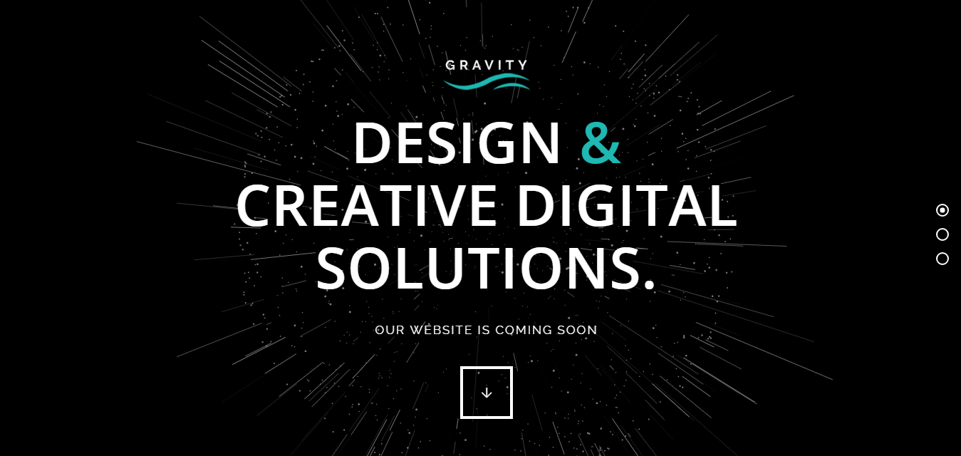 Gravity--Best Premium Coming Soon and Under Construction WordPress Themes and Templates