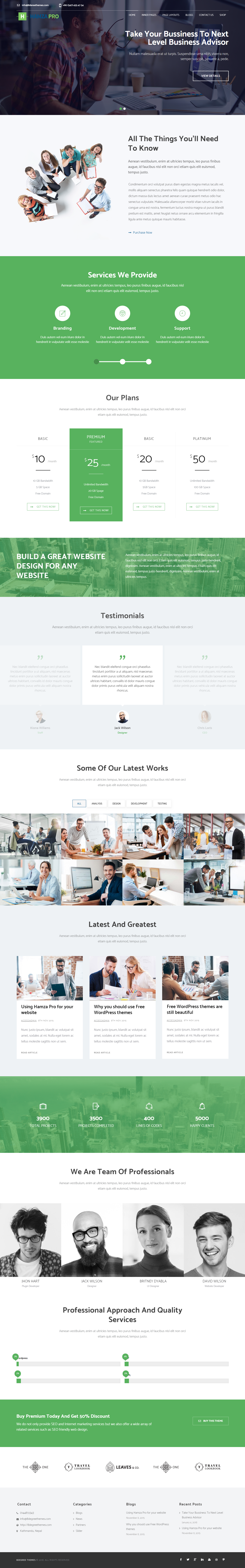 Hamza Pro - Best Coming Soon and Under Construction Premium WordPress Themes and Templates