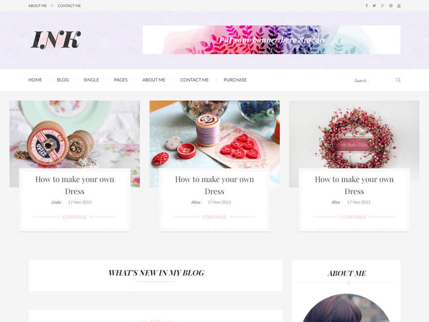Ink - Best Premium News Magazine WordPress Themes