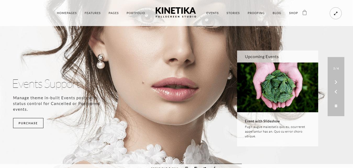 Kinetika - Premium Photography WordPress Themes and Templates