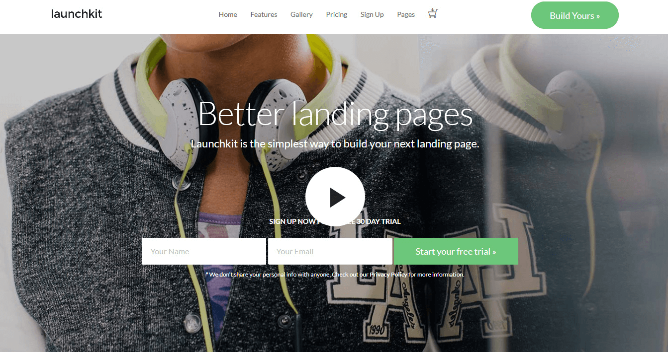 Launchkit - Best Premium WordPress Landing Page Themes