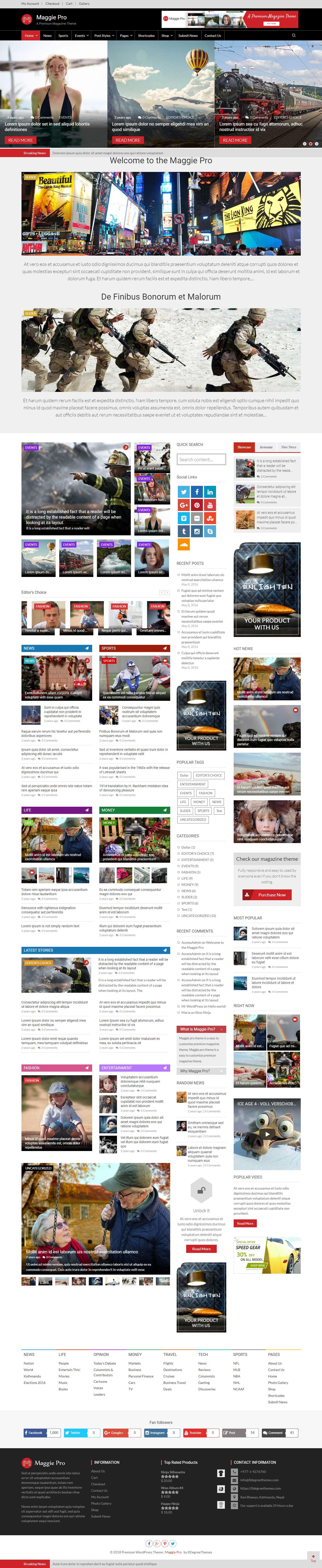 Maggie Pro - Best Premium Responsive WordPress Themes