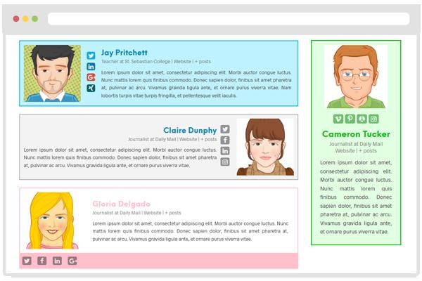 Best WordPress Author Bio Box Plugins: Molongui Authorship