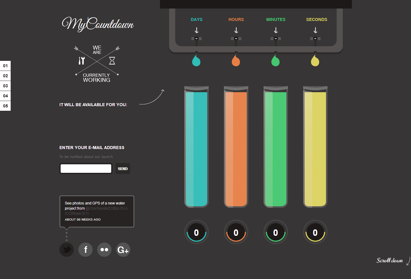 My CountDown-Best Premium Coming Soon and Under Construction WordPress Themes and Templates