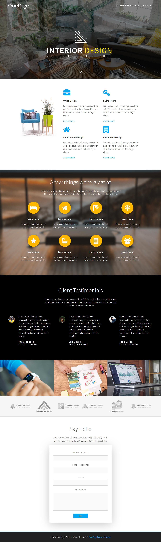 Onepage Express – Best Free Agency WordPress Theme