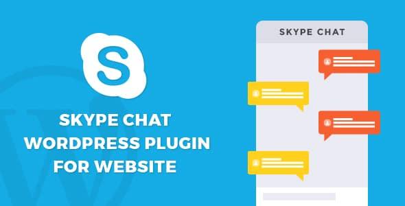 Best WordPress Skype Contact Button Plugins: Skype Chat WordPress Plugin