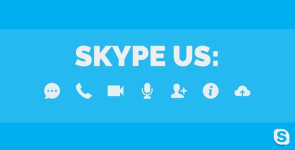 Best WordPress Skype Contact Button Plugins: Skype Us