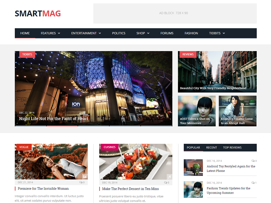 Smartmag - Best Premium News Magazine WordPress Themes