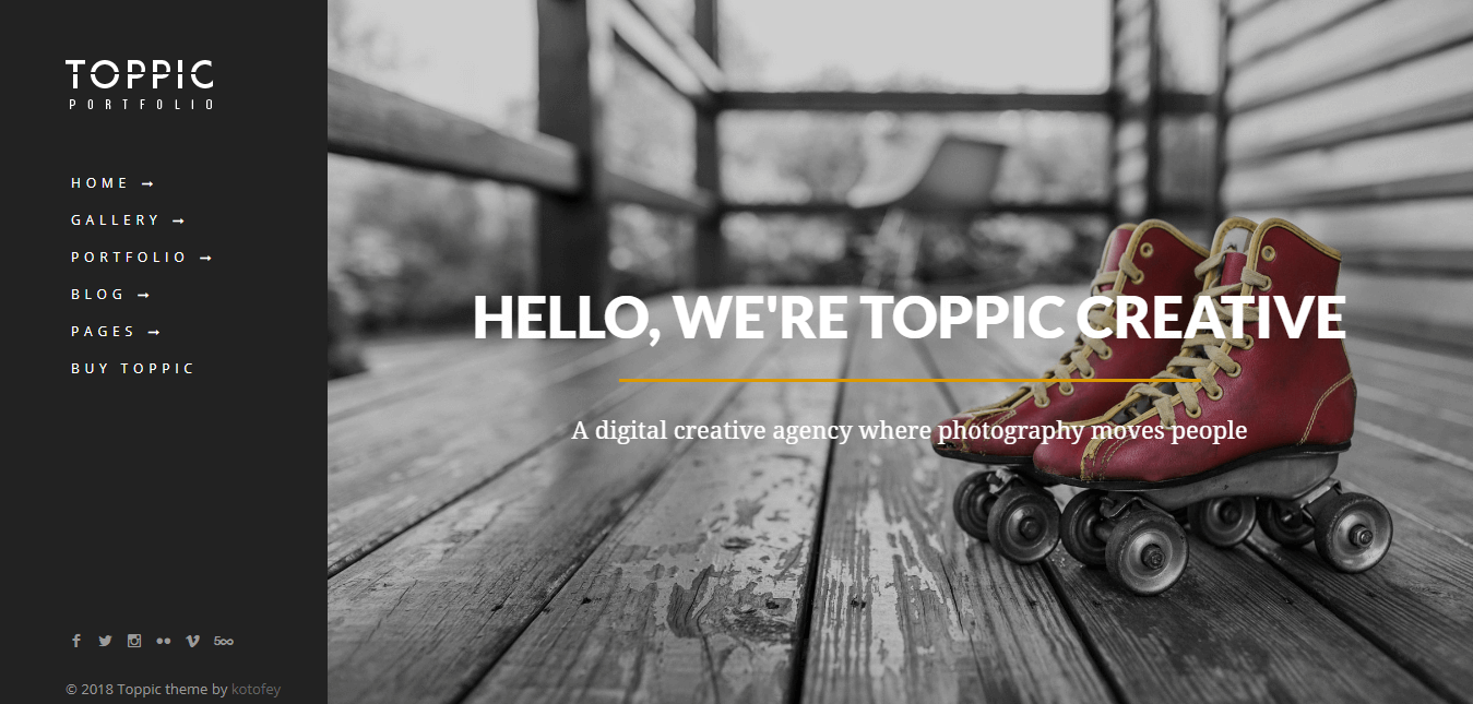 TopPic - Premium Photography WordPress Themes and Templates