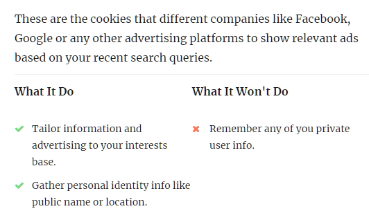 Total GDPR Compliance: Advertisement