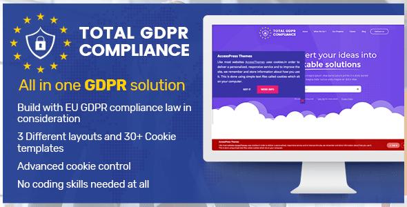 Best WordPress GDPR Compliance Plugins: Total GDPR Compliance