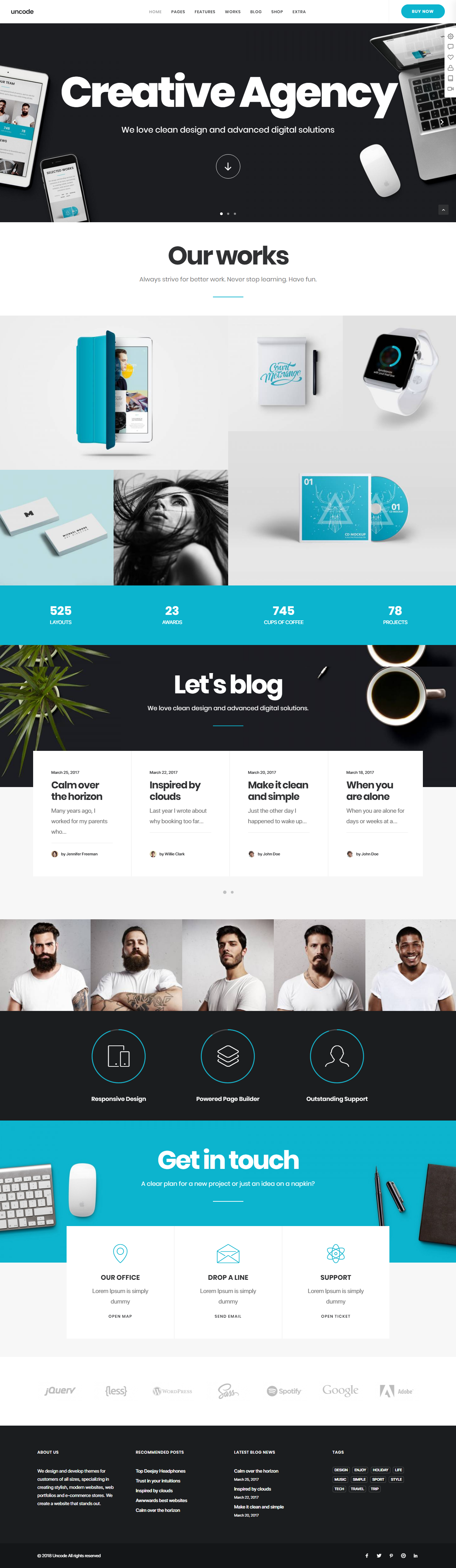 Uncode - Premium Agency WordPress Themes and Templates