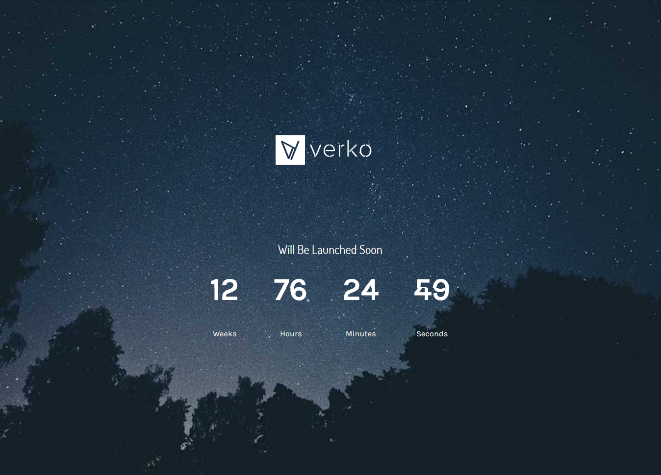 Verko - Best Coming Soon and Under Construction Premium WordPress Themes and Templates