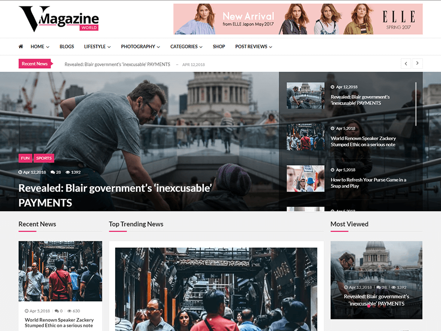 25 Best News Magazine Wordpress Themes Premium Listing