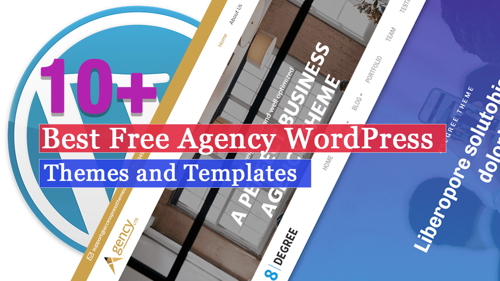 10+ Best Free Agency WordPress Themes and Templates