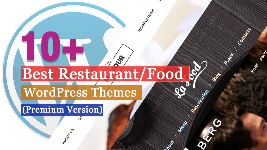 Best Premium Restaurant Food WordPress Themes