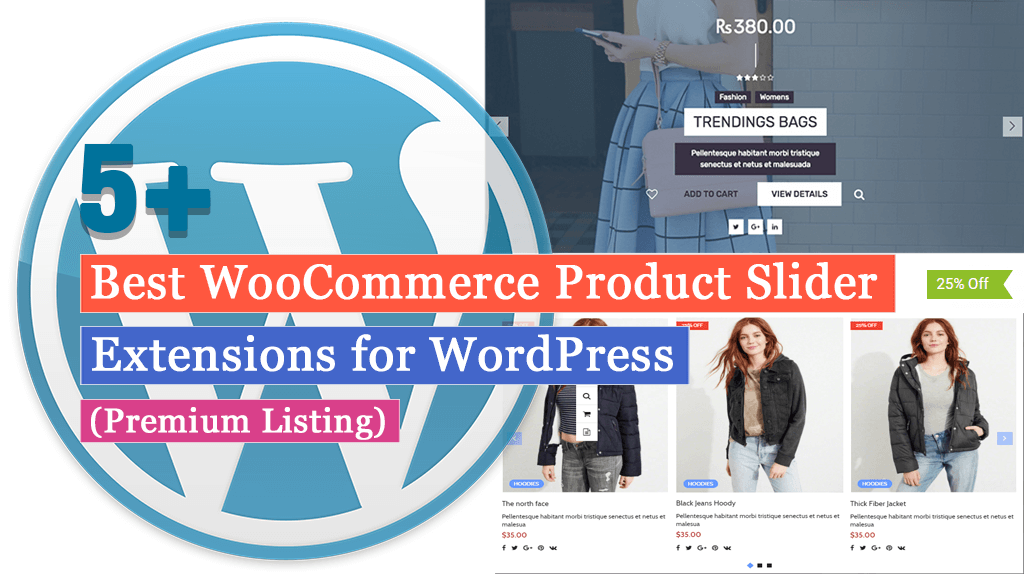Best WooCommerce Product Slider Extensions for WordPress