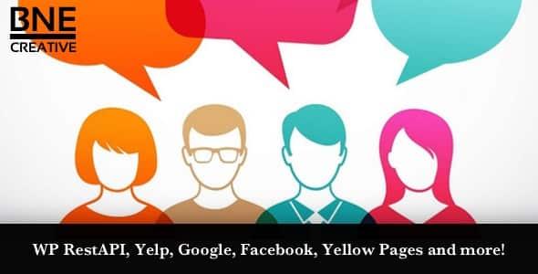 Best WordPress Facebook Review Showcase Plugin: BNE Testimonial Pro