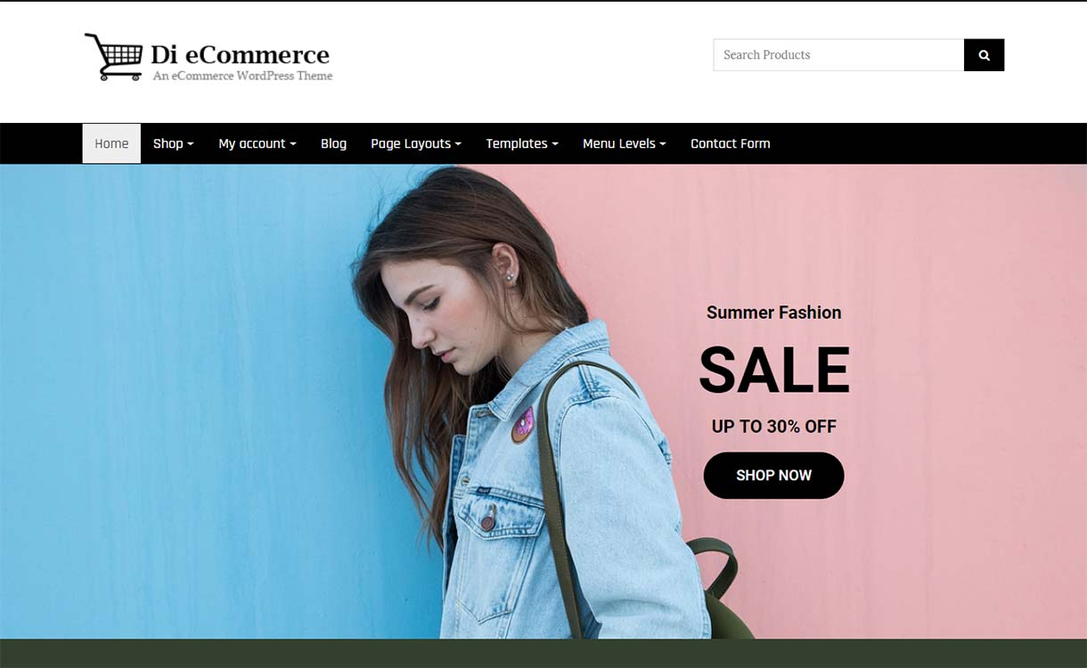 diecommerce-free-wordpress-theme