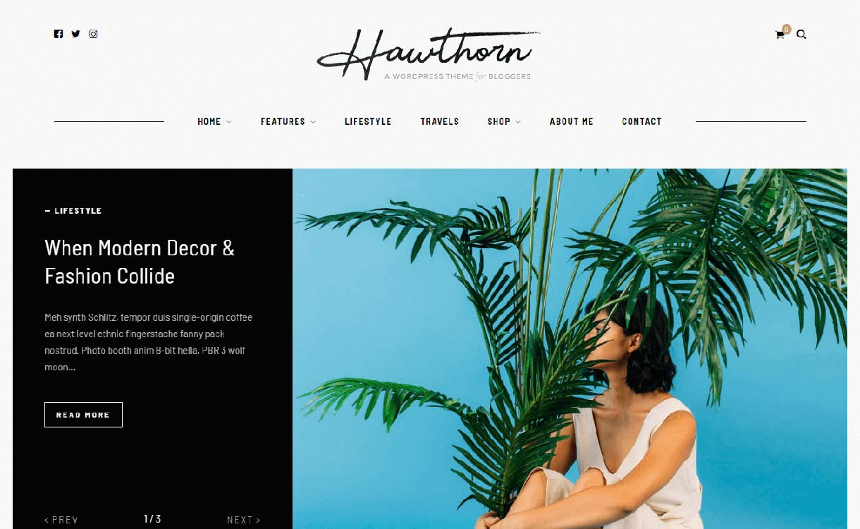 hawthorn-best-premium-wordpress-blog-themes