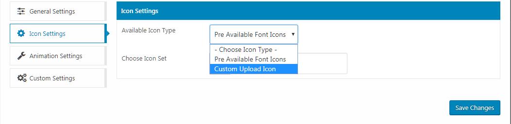 WP Menu Icons - Icon Settings