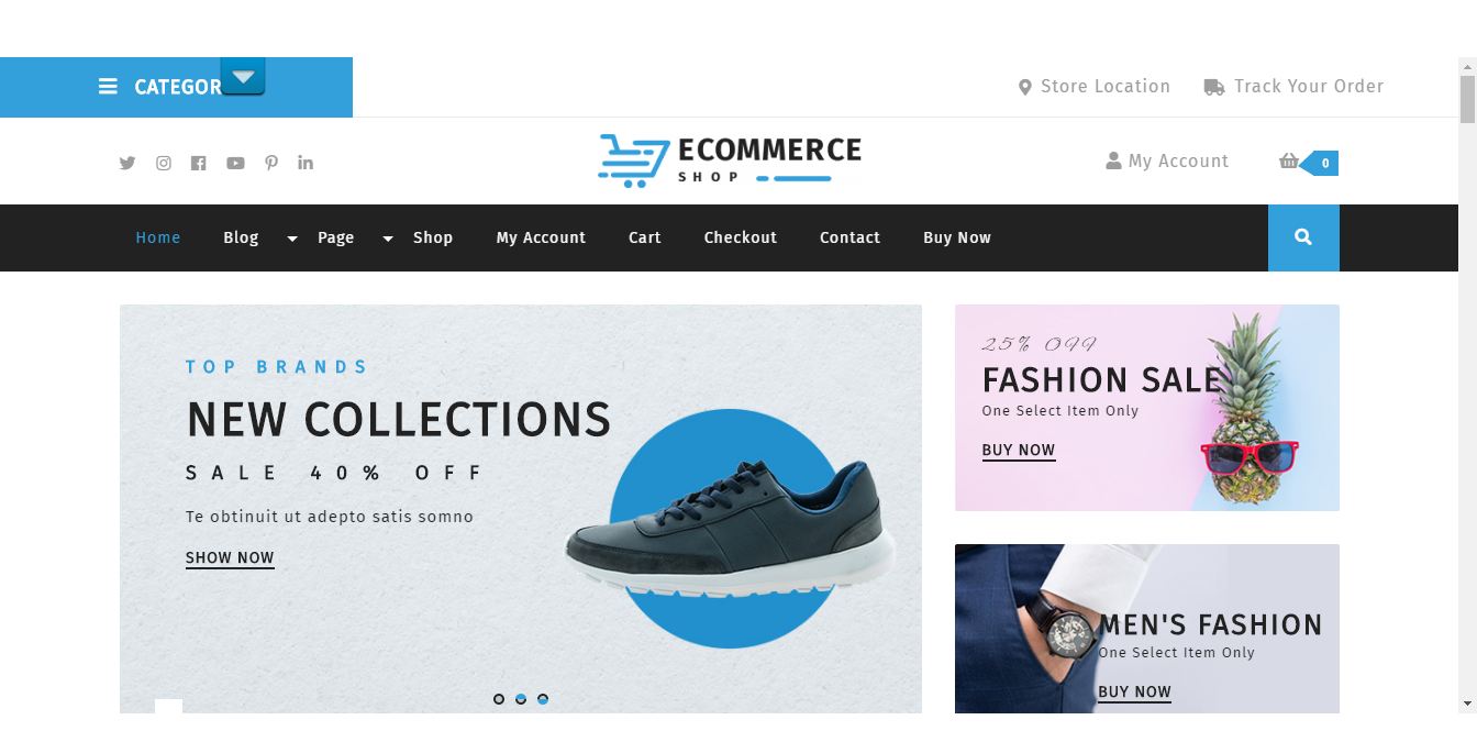 25+ Best Free eCommerce WordPress Themes 2019 (Updated
