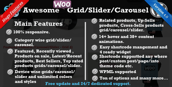 Best WooCommerce Product Slider Extensions for WordPress: TWI WooCommerce Product Slider/Carousel/Grid