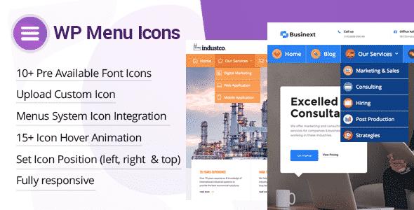 Best Custom Icons Plugin for WordPress Menu - WP Menu Icons