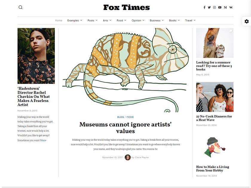 fox-premium-wordpress-magazine-theme