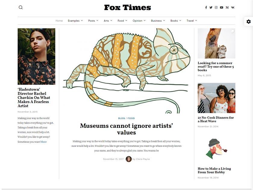 fox-premium-wordpress-magazine-theme
