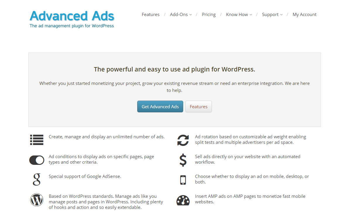 advanced ads