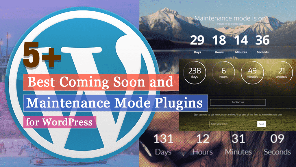 Best Coming Soon and Maintenance Mode Plugins for WordPress