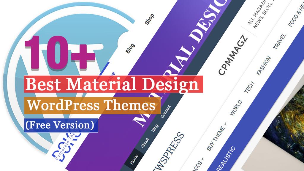 Best Free Material Design WordPress Themes