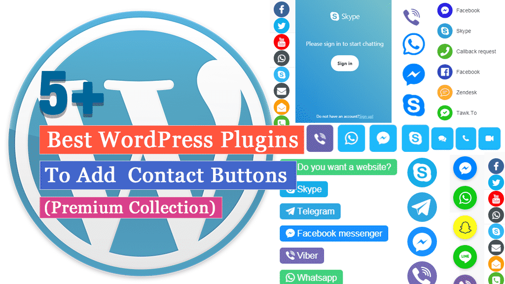 Best WordPress Plugins to Add Contact Buttons